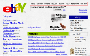 Old Website eBay