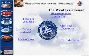 Old Website Weather Channel
