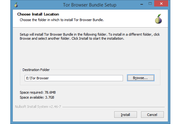 Tor Browser Bundle Setup